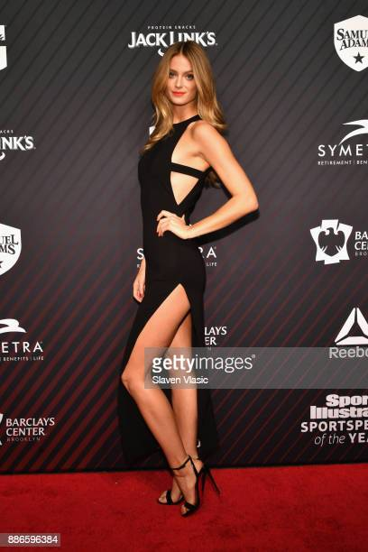Sports Illustrated Model Kate Bock attends SPORTS ILLUSTRATED 2017 Sportsperson of the Year Show on December 5 2017 at Barclays Center in New York...