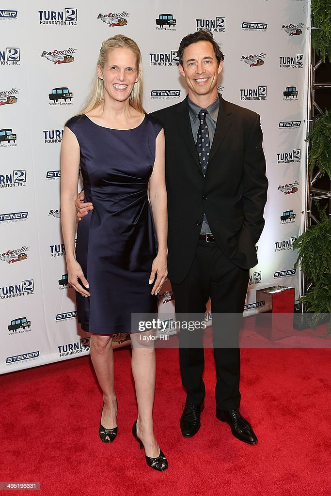 Sports Illustrated photo editor Maureen Grise and actor Tom Cavanagh attend theDerek Jeter 18th Annual Turn 2 Foundation dinner at Sheraton New York Times Square on June 1, 2014 in New York City.