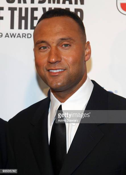 Sports Illustrated Sportsman of the Year for 2009 Derek Jeter attends the 2009 Sports Illustrated Sportsman of the Year Celebration at The IAC...