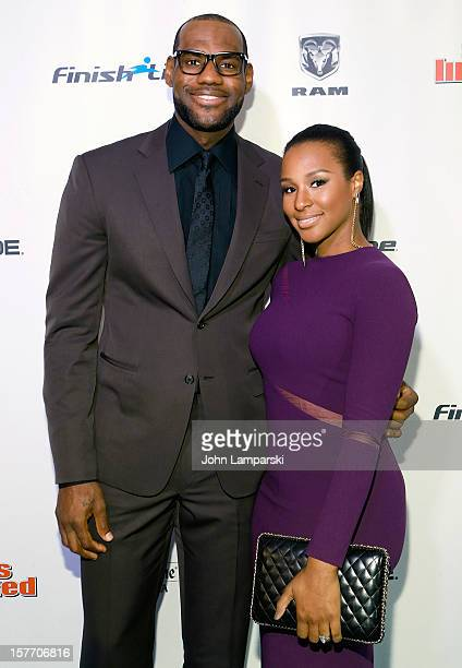Sports Illustrated Sportsman of the year LeBron James and Savannah Brinson attend the 2012 Sports Illustrated Sportsman of the year award...