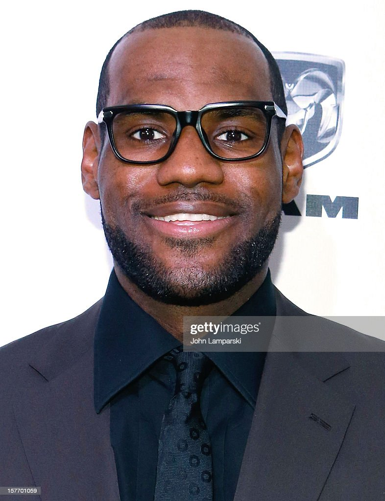 Sports Illustrated Sportsman of the Year <a gi-track='captionPersonalityLinkClicked' href=/galleries/search?phrase=LeBron+James&family=editorial&specificpeople=201474 ng-click='$event.stopPropagation()'>LeBron James</a> attends the 2012 Sports Illustrated Sportsman of the Year award presentation at Espace on December 5, 2012 in New York City.