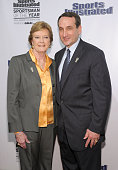 Sports Illustrated Sportswoman and Sportsman of the Year College Basketball coaches Pat Summit and Mike Krzyzewski attend the 2011 Sports Illustrated...