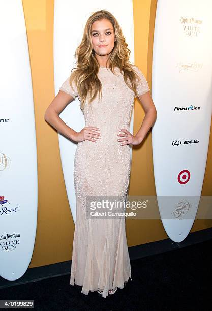 Sports Illustrated Swimsuit 50th Anniversary Issue cover model Nina Agdal attends Sports Illustrated Swimsuit 50th Anniversary Party at Swimsuit...