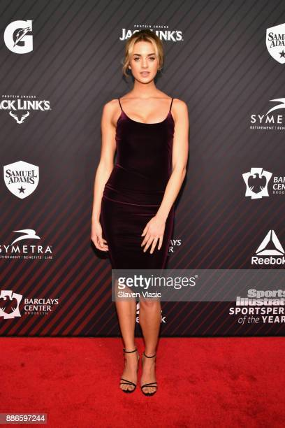 Sports Illustrated Swimsuit Model Allie Ayers attends SPORTS ILLUSTRATED 2017 Sportsperson of the Year Show on December 5 2017 at Barclays Center in...