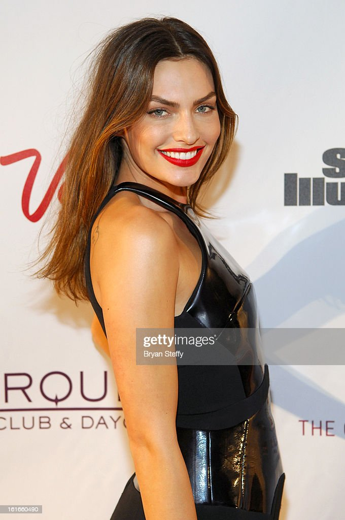 Sports Illustrated swimsuit model Alyssa Miller attends SI Swimsuit on Location at the Marquee Nightclub at The Cosmopolitan of Las Vegas on February 13, 2013 in Las Vegas, Nevada.