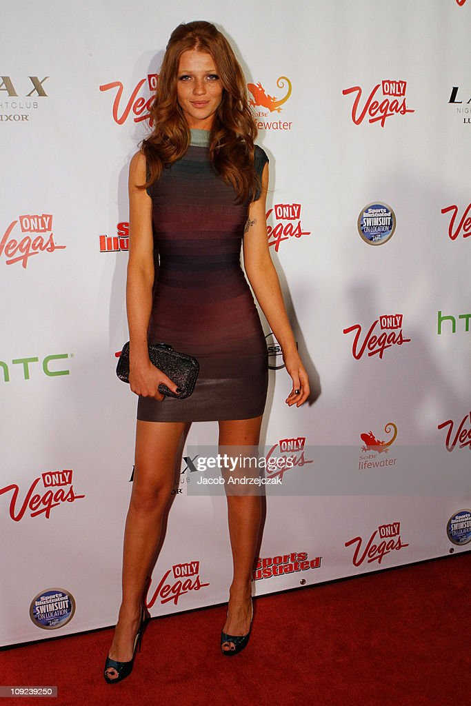 Sports Illustrated swimsuit model Cintia Dicker arrives at SI Swimsuit On Location hosted by LAX Nightclub at LAX Nightclub on February 16, 2011 in Las Vegas, Nevada.