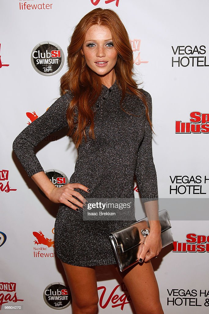 Sports Illustrated swimsuit model Cintia Dicker arrives at the Sports Illustrated Swimsuit 24/7 Club SI Swimsuit at Vanity Nightclub At The Hard Rock...