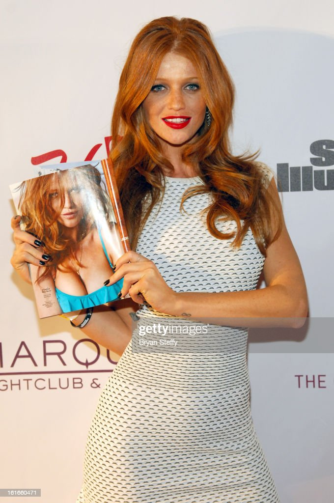 Sports Illustrated swimsuit model Cintia Dicker attends SI Swimsuit on Location at the Marquee Nightclub at The Cosmopolitan of Las Vegas on February 13, 2013 in Las Vegas, Nevada.