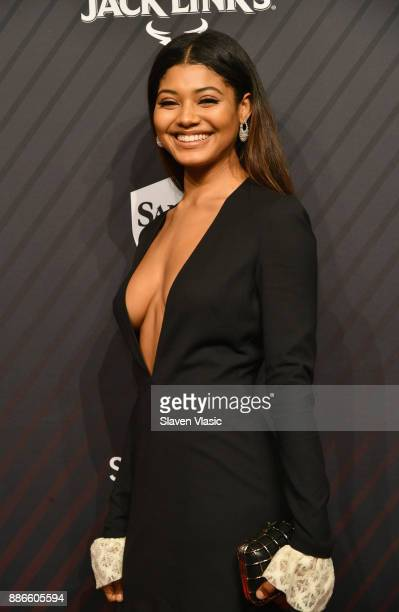 Sports Illustrated Swimsuit model Danielle Herrington attends SPORTS ILLUSTRATED 2017 Sportsperson of the Year Show on December 5 2017 at Barclays...