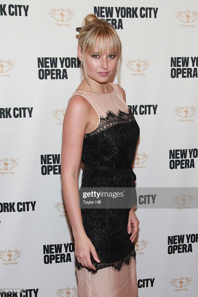 Sports Illustrated swimsuit model Genevieve Morton attends the 2013 New York City Opera Spring Gala at New York City Center on April 25, 2013 in New York City.
