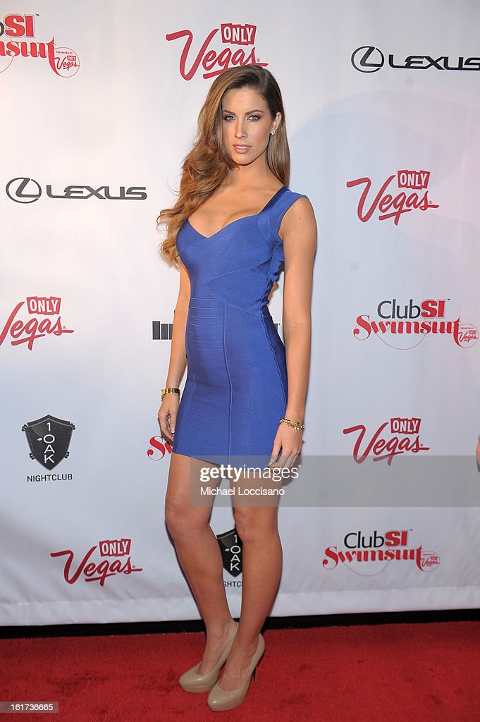 Sports Illustrated swimsuit model Katherine Webb attends Club SI Swimsuit at 1 OAK Nightclub at The Mirage Hotel & Casino on February 14, 2013 in Las Vegas, Nevada.