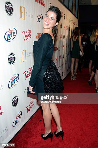 Sports Illustrated swimsuit model Zoe Duchesne arrives at the Sports Illustrated Swimsuit 24/7 SI Swimsuit On Location at Jet Nightclub at The Mirage...