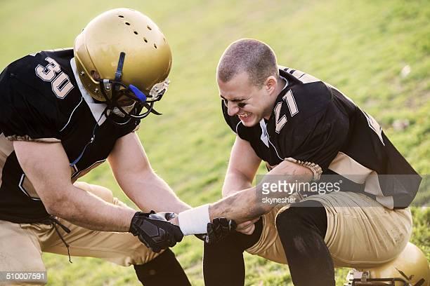 Lesioni sportive.