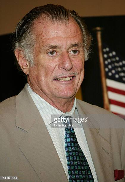 Sports jourmalist Frank DeFord attends a special screening of HBO Sports' 'Nine Innings From Ground Zero' on August 11 2004 at the American Museum of...