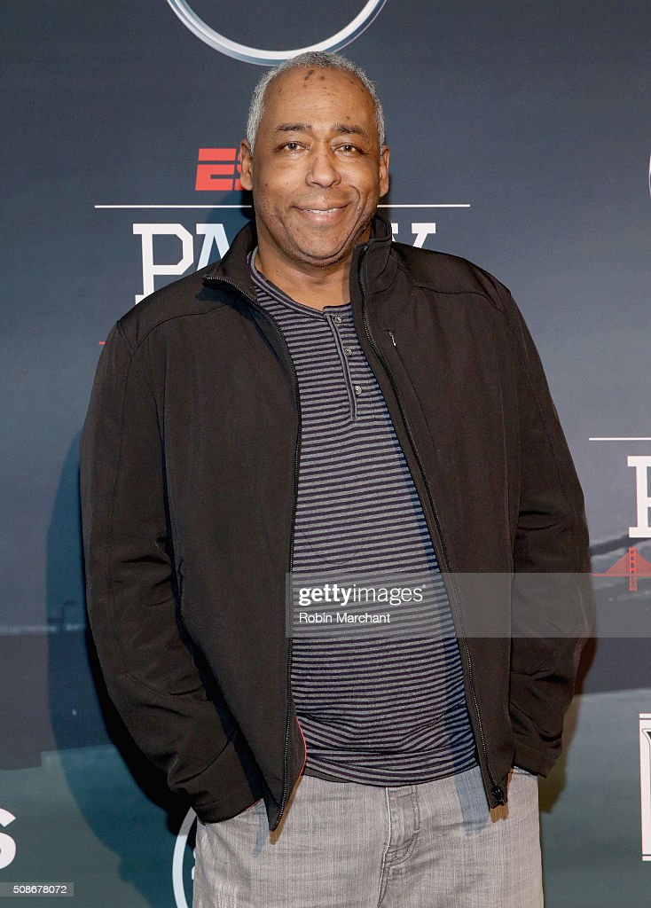 Sports journalist John Saunders attends ESPN The Party on February 5, 2016 in San Francisco, California.