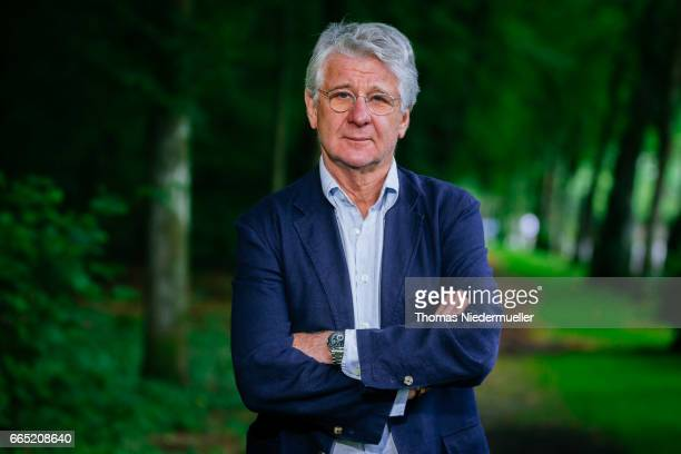 Sports journalist Marcel Reif poses during a portrait session on July 29 2016 in Munich Germany