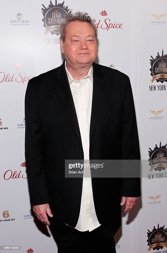 Sports journalist Woody Paige attends the 2014 Leigh Steinberg Super Bowl Party at 230 Fifth Avenue on February 1, 2014 in New York City.