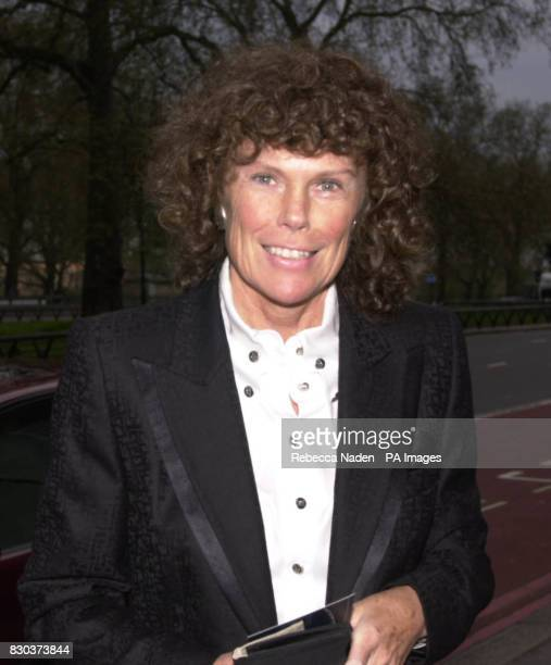 Sports Minister Kate Hoey arrives at the Grosvenor House Hotel for the Professional Football Association awards Hoey signalled she was willing to...