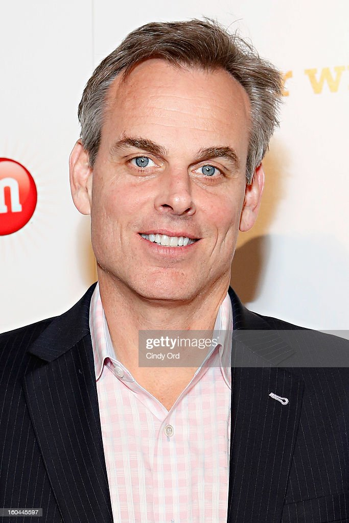 Sports radio personality <a gi-track='captionPersonalityLinkClicked' href=/galleries/search?phrase=Colin+Cowherd&family=editorial&specificpeople=5536507 ng-click='$event.stopPropagation()'>Colin Cowherd</a> attends the M&M's Better With M Party at The Foundry on January 31, 2013 in New Orleans, Louisiana.