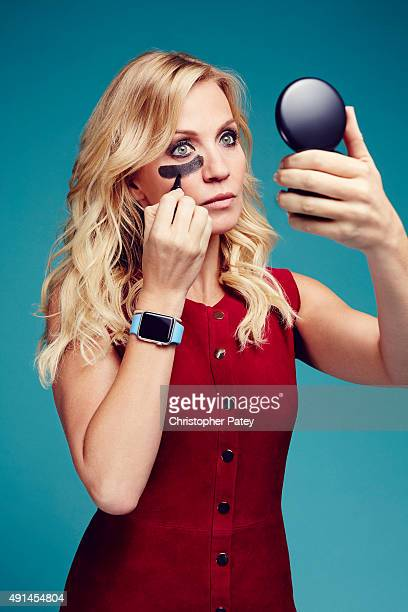 Sports reporter and host on ESPN Michelle Beadle is photographed for The Hollywood Reporter on August 27 2015 in Los Angeles California