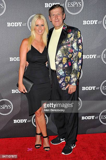 Sports reporter Craig Sager and Stacy Sager attend BODY At The ESPYs PreParty at Avalon Hollywood on July 12 2016 in Los Angeles California