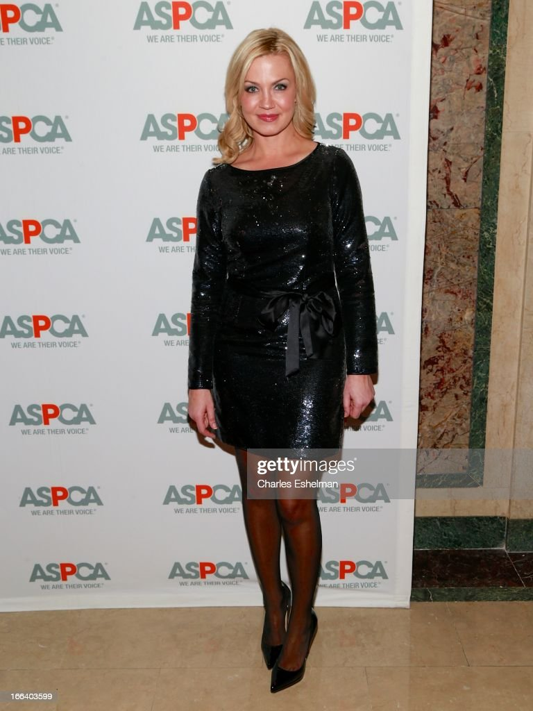TV sports reporter Michelle Beadle attends the 16th Annual ASPCA Bergh Ball at The Plaza Hotel on April 11, 2013 in New York City.
