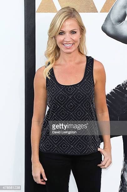 Sports reporter Michelle Beadle attends the premiere of Warner Bros Pictures' 'Magic Mike XXL' at the TCL Chinese Theatre IMAX on June 25 2015 in...