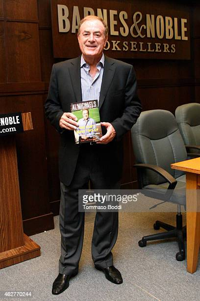 Sportscaster Al Michaels book signing for 'You Can't Make This Up' held at Barnes Noble bookstore at The Grove on February 4 2015 in Los Angeles...