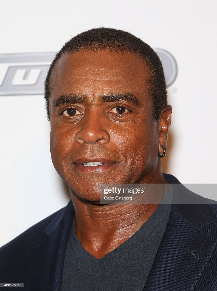 Sportscaster and former National Football League player <a gi-track='captionPersonalityLinkClicked' href=/galleries/search?phrase=Ahmad+Rashad&family=editorial&specificpeople=228301 ng-click='$event.stopPropagation()'>Ahmad Rashad</a> arrives at the Derek Jeter Celebrity Invitational red carpet event at the Aria Resort & Casino at CityCenter on March 13, 2015 in Las Vegas, Nevada.