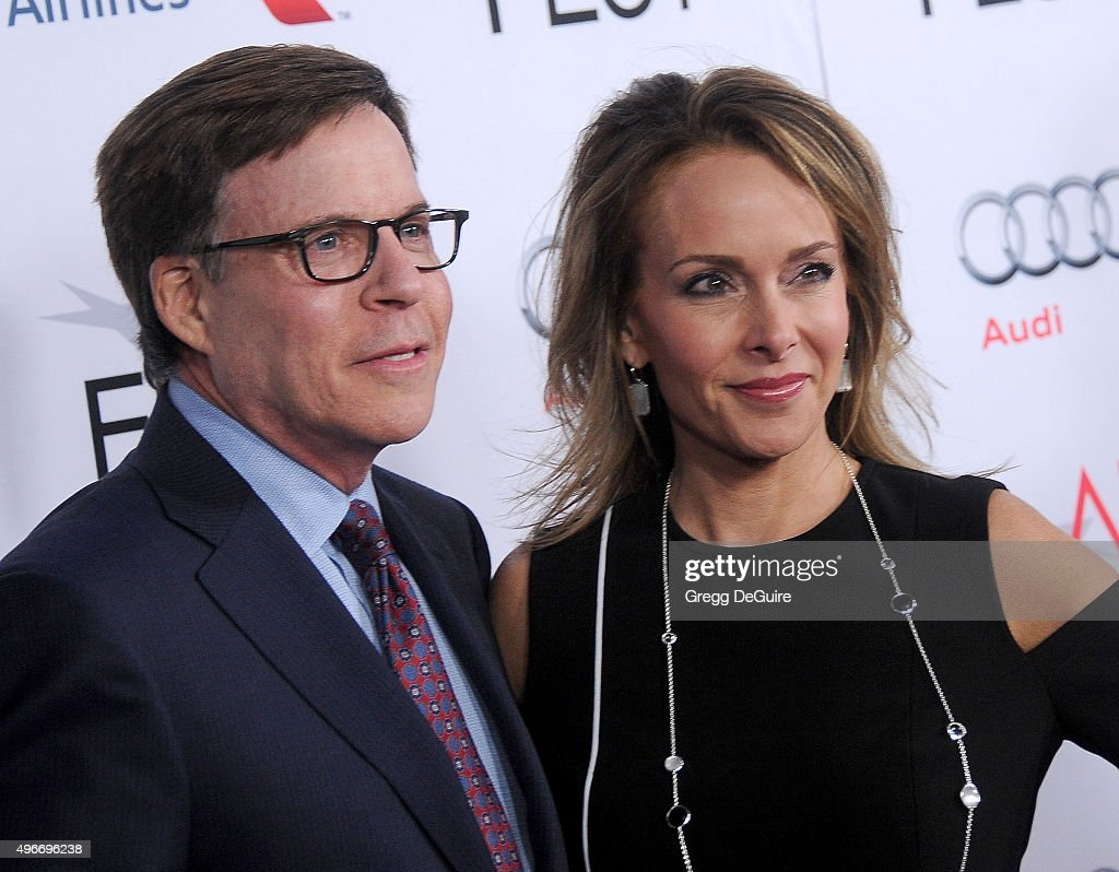 Sportscaster Bob Costas and wife Jill Sutton arrive at the AFI FEST 2015 Presented By Audi Centerpiece Gala Premiere of Columbia Pictures' 'Concussion' at TCL Chinese Theatre on November 10, 2015 in Hollywood, California.