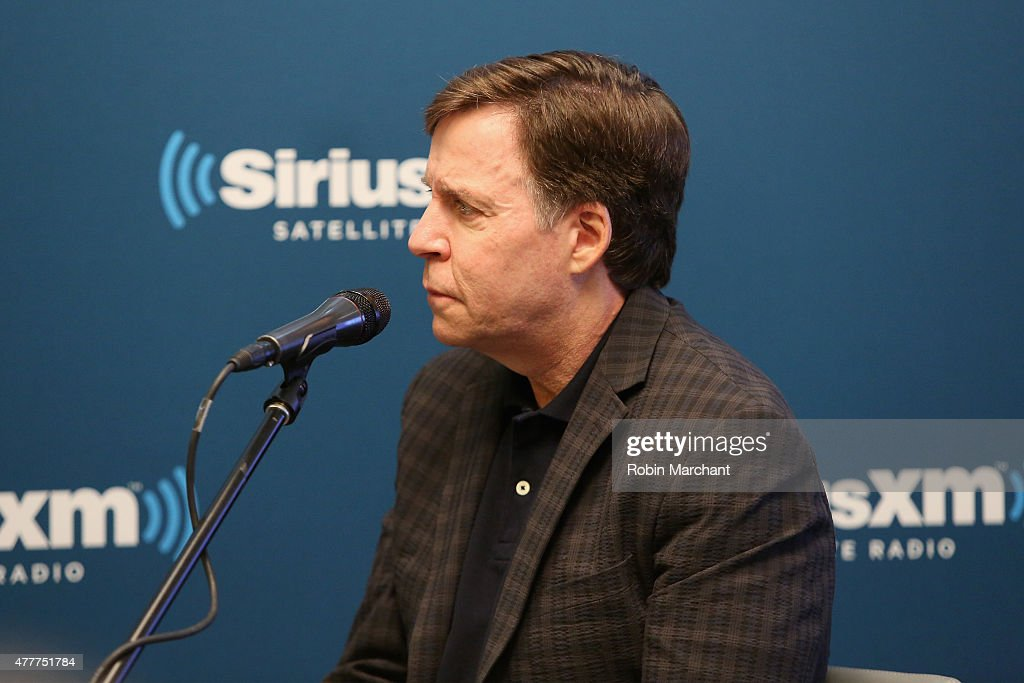 Sportscaster Bob Costas speaks during SiriusXM's 'Town Hall' with James Taylor hosted by Bob Costas at SiriusXM Studio on June 19, 2015 in New York City.
