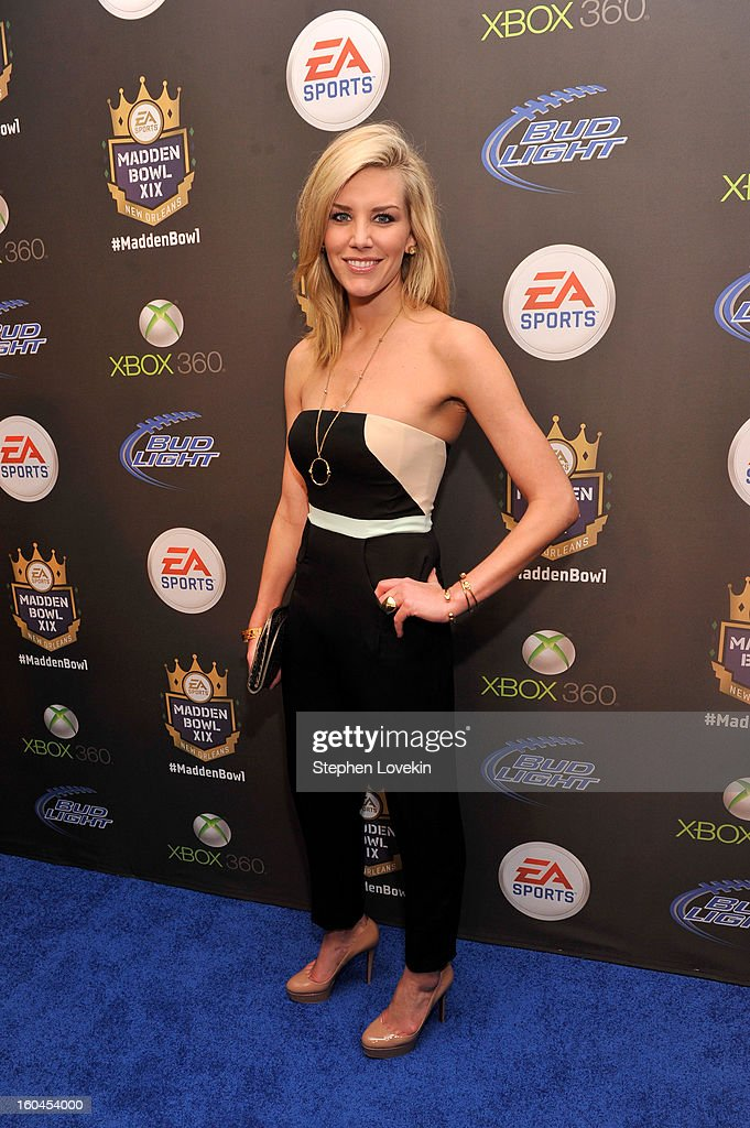 Sportscaster Charissa Thompson arrives at EA SPORTS Madden Bowl XIX at the Bud Light Hotel on January 31, 2013 in New Orleans, Louisiana.