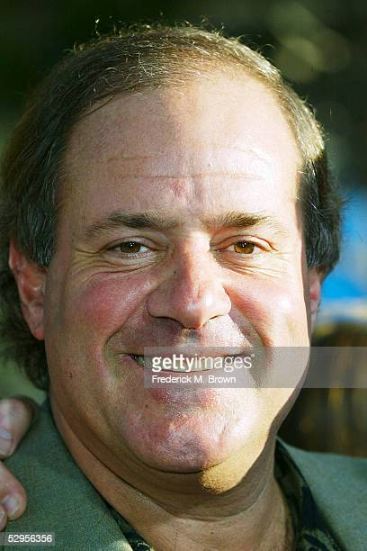 Sportscaster Chris Berman attends the film premiere of The Longest Yard at Graumans Chinese Theater on May 19 2005 in Hollywood California