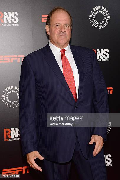 Sportscaster Chris Berman attends the Paley Prize Gala honoring ESPN's 35th anniversary presented by Roc Nation Sports on May 28 2014 in New York City