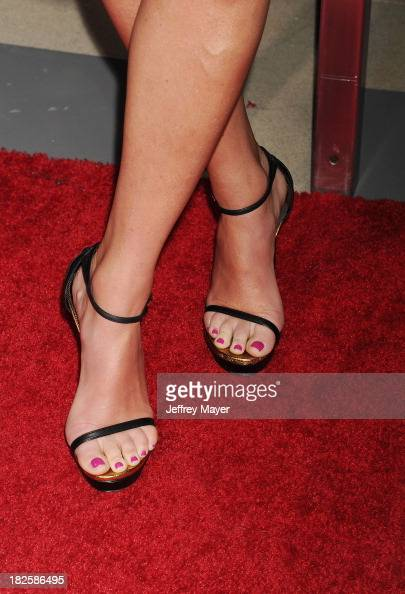 Sportscaster Erin Andrews at the Los Angeles premiere of 'Captain Phillips' at the Academy of Motion Picture Arts and Sciences on September 30 2013...