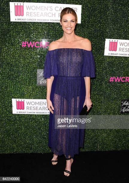 Sportscaster Erin Andrews attends An Unforgettable Evening at the Beverly Wilshire Four Seasons Hotel on February 16 2017 in Beverly Hills California