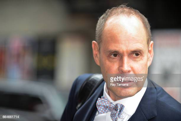 Sportscaster Ernie Johnson Jr enters the 'The Late Show With Stephen Colbert' taping at the Ed Sullivan Theater on April 04 2017 in New York City
