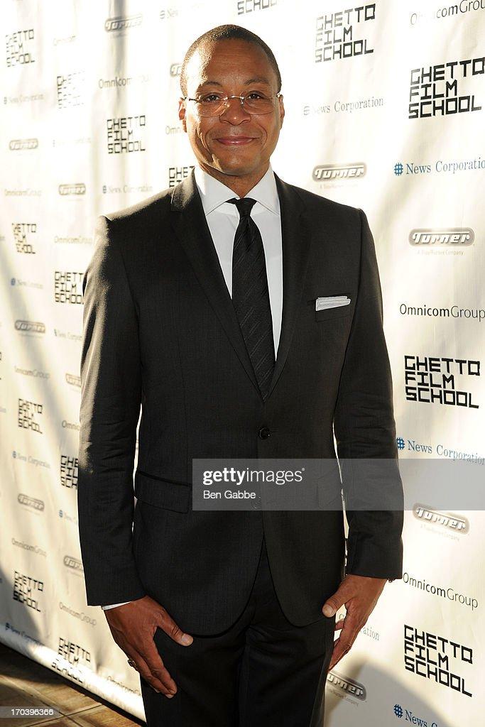 Sportscaster Gus Johnson attends Ghetto Film School 9th Annual Spring Benefit at The Standard Biergarten on June 12, 2013 in New York City.
