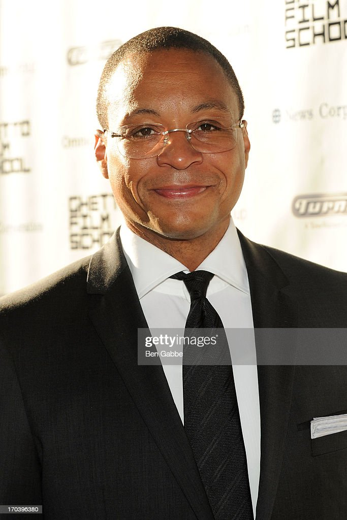 Sportscaster Gus Johnson attends Ghetto Film School 9th Annual Spring Benefit at The Standard Biergarten on June 12, 2013 in New York City.
