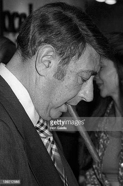 Sportscaster Howard Cosell attends American Booksellers Association Convention on June 5 1974 in Washington DC