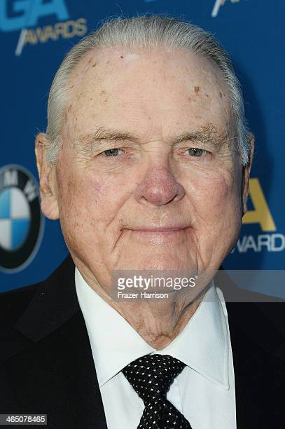 Sportscaster Keith Jackson attends the 66th Annual Directors Guild Of America Awards held at the Hyatt Regency Century Plaza on January 25 2014 in...