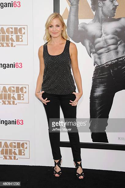 Sportscaster Michelle Beadle arrives at the Los Angeles World Premiere of Warner Bros Pictures' 'Magic Mike XXL' at TCL Chinese Theatre IMAX on June...