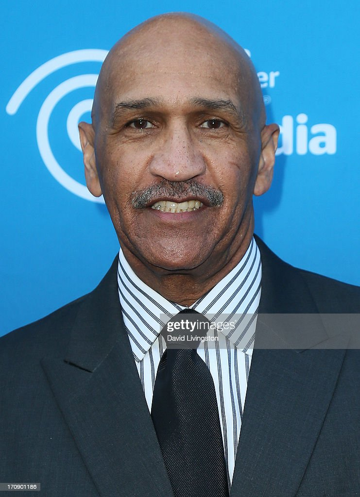 Sportscaster Stu Lantz attends Time Warner Cable Media (TWC Media) 'View From The Top' Upfront at Vibiana on June 19, 2013 in Los Angeles, California.