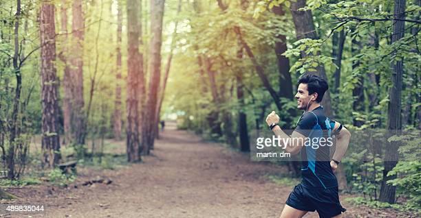 公園でジョギングスポーツ