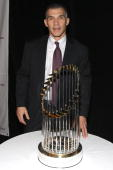 Sportsman of the Year Joe Girardi attends the March of Dimes' Sportman and Sportswoman of the Year luncheon at The Waldorf=Astoria on December 2 2009...