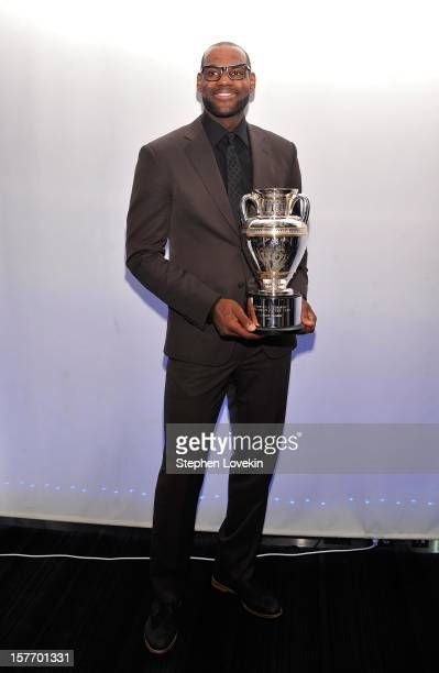 Sportsman of the Year LeBron James attends the 2012 Sports Illustrated Sportsman of the Year award presentation at Espace on December 5 2012 in New...