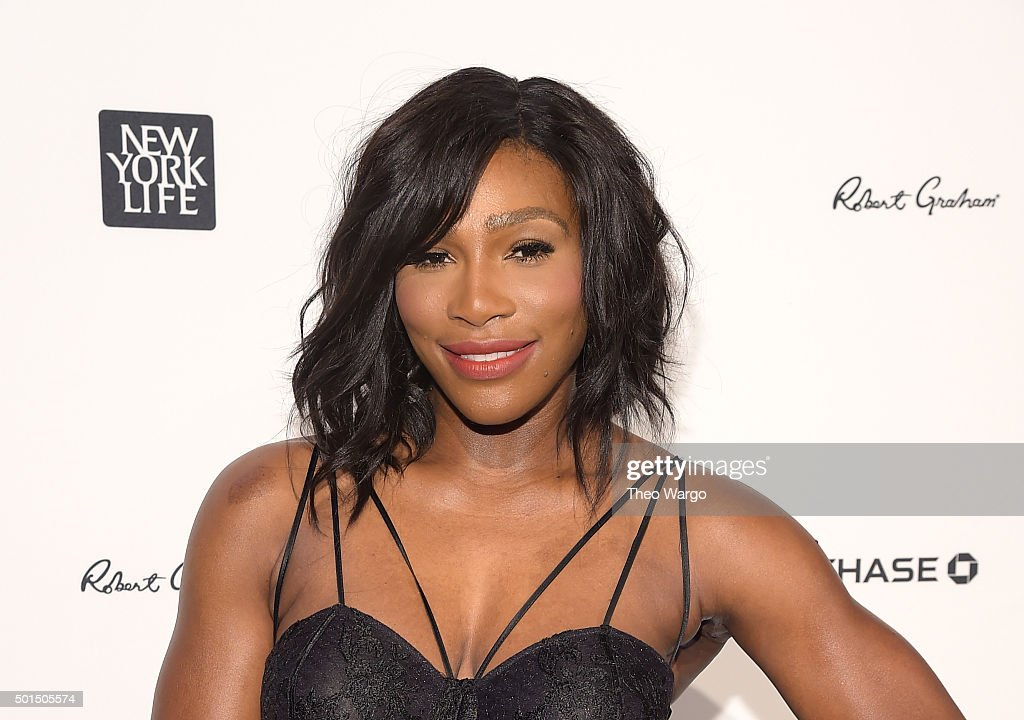 Sportsperson of the Year Serena Williams attends Sports Illustrated Sportsperson of the Year Ceremony 2015 at Pier 60 on December 15, 2015 in New York City.
