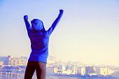 Exercising, Running, Sport, Jogging, Smiling, Women, Healthy Lifestyle