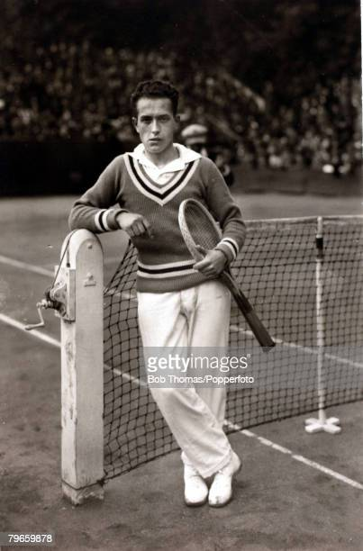 Sport/Tennis circa 1930 Henri Cochet France one of the great players of the 1920's and early 30's He was French Open Singles Champion 19261930 and...