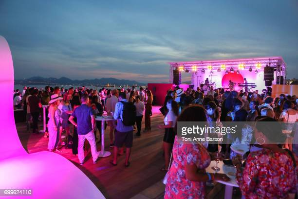 Spotify Beach Party during Cannes Lions With Performances By Solange and Sampha at Spotify Beach House on June 21 2017 in Cannes France